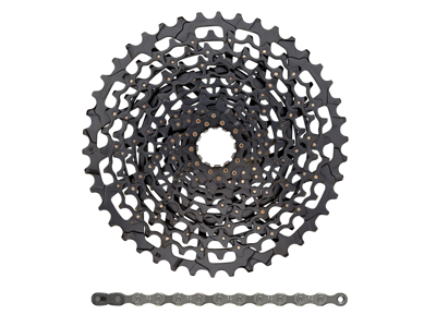 Sram sampak - 11 gear - XG-1150 10-42T kassette - PC-1110