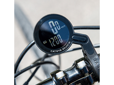 Cateye Quick CC-RS100W - Cykelcomputer - 7 funktioner - Sort