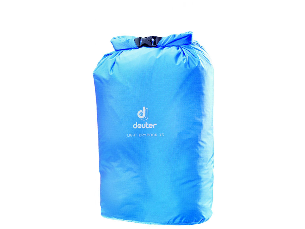 Image of   Deuter Light Drypack 15 - Vandtæt pakpose 15 liter - Blå