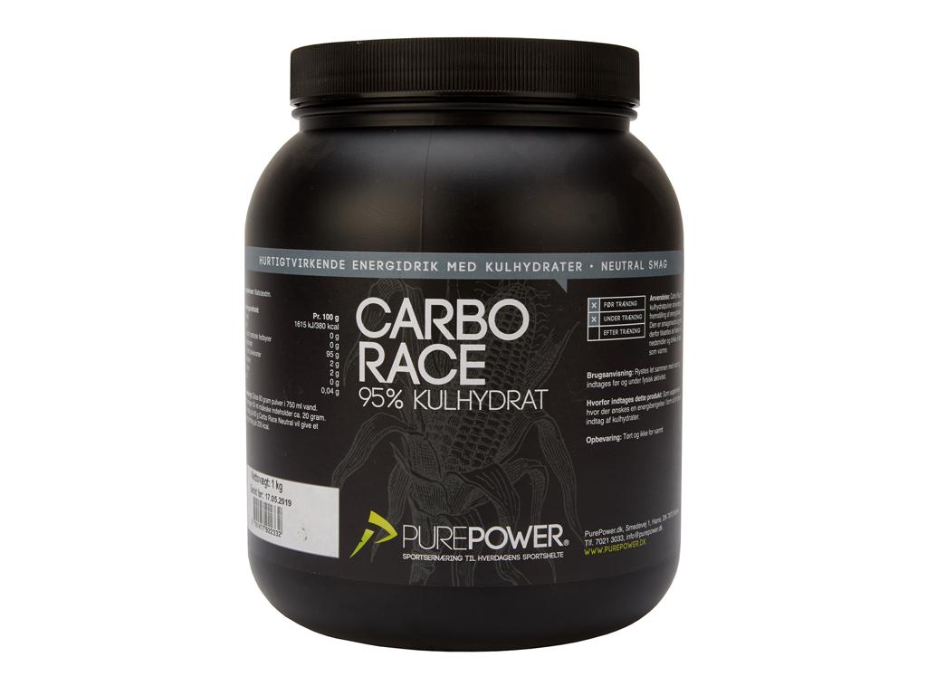 Billede af PurePower Carbo Race - Neutral 1 kg