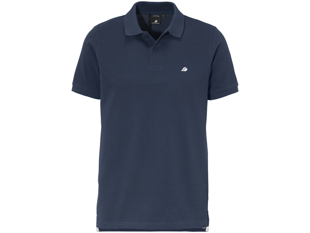 Image of   Didriksons William Mens Piké - Poloshirt - Navy - Str. L