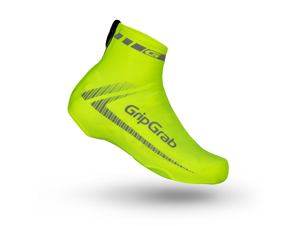 Skoovertræk GripGrab RaceAero Hi-Vis neongul onesize