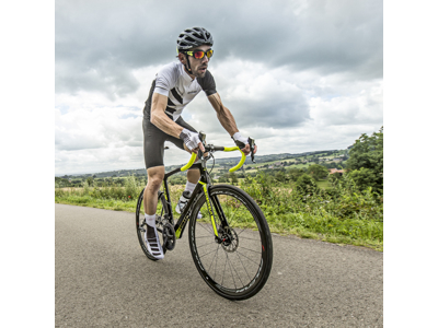 GripGrab Aero TT cykelhandske - Sort/hvid