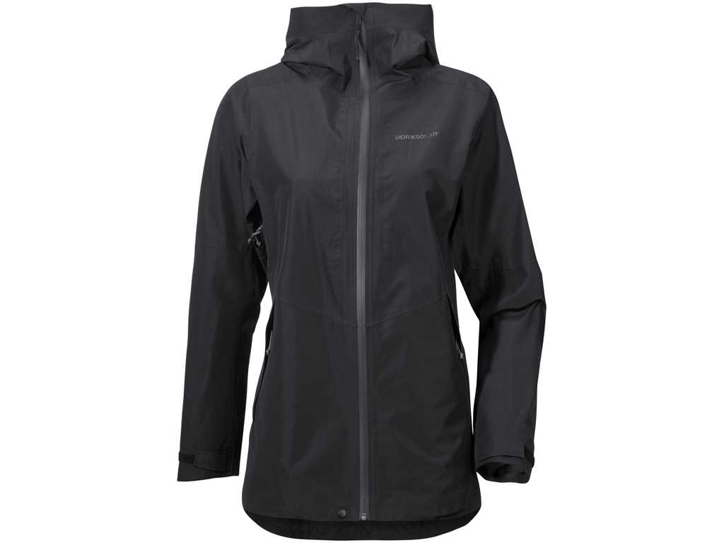 Image of   Didriksons Minou Womens Jacket - Vandtæt Damejakke - Sort - 42