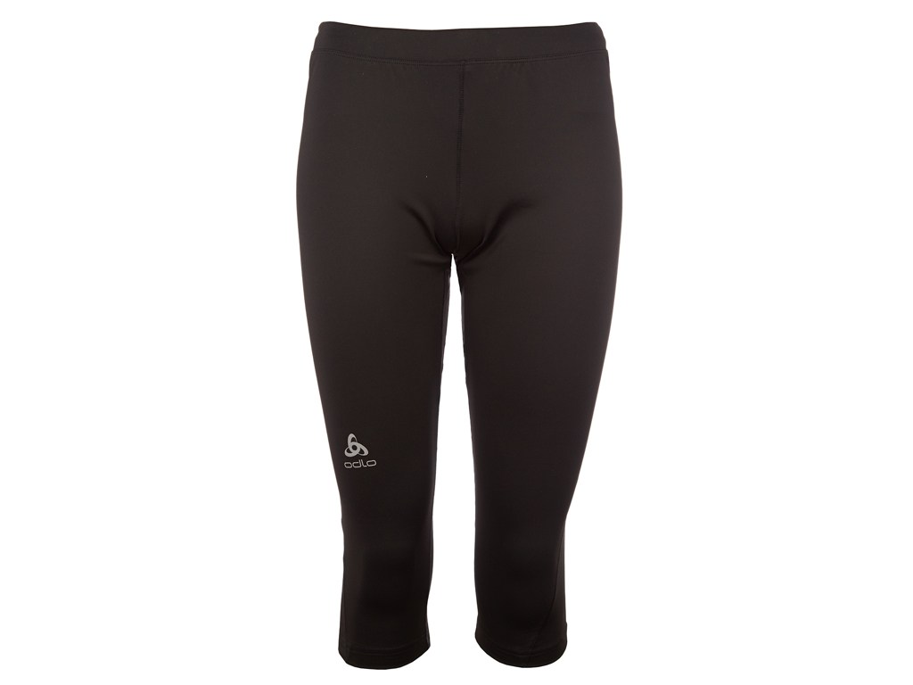 Image of   Odlo dame tights 3/4 - SLIQ ACTIVE RUN - Sort - Str. XS