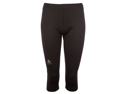 Odlo dame tights 3/4 - Sliq Active Run - Sort