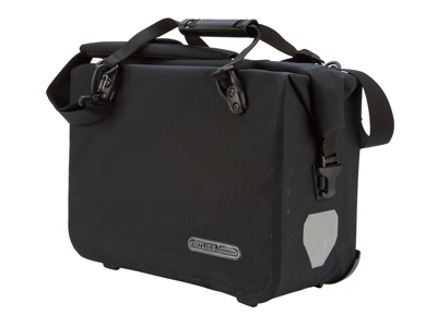 Ortlieb - OfficeBag - Sort Large/21 liter - QL 2.1 beslag