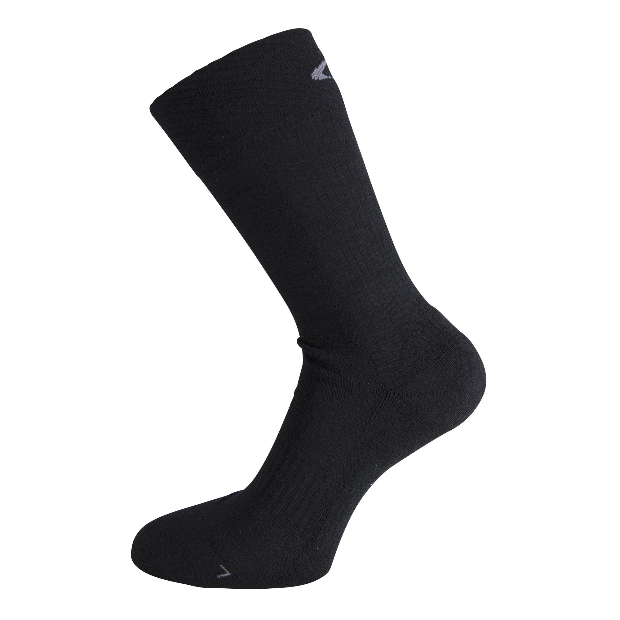 Ulvang Super - Mediumtyk uldsok - Sort | Socks