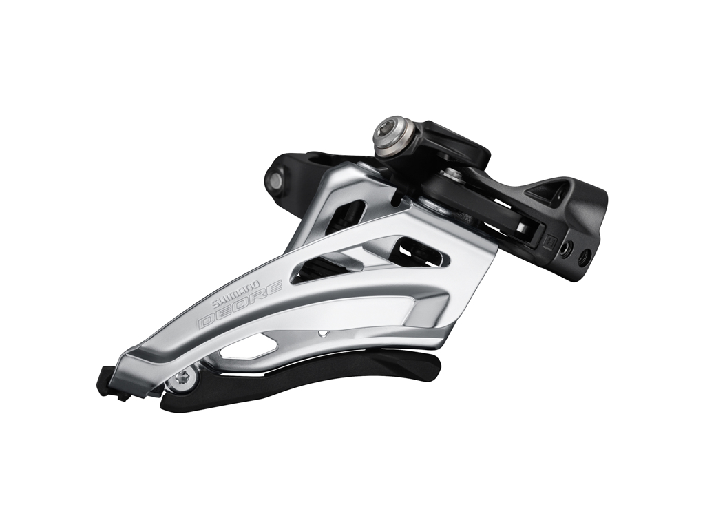 Image of   Shimano Deore - Forskifter FD-M6020-M - 2x10 34/38 tands Low clamp med bånd - 28,6-34,9mm