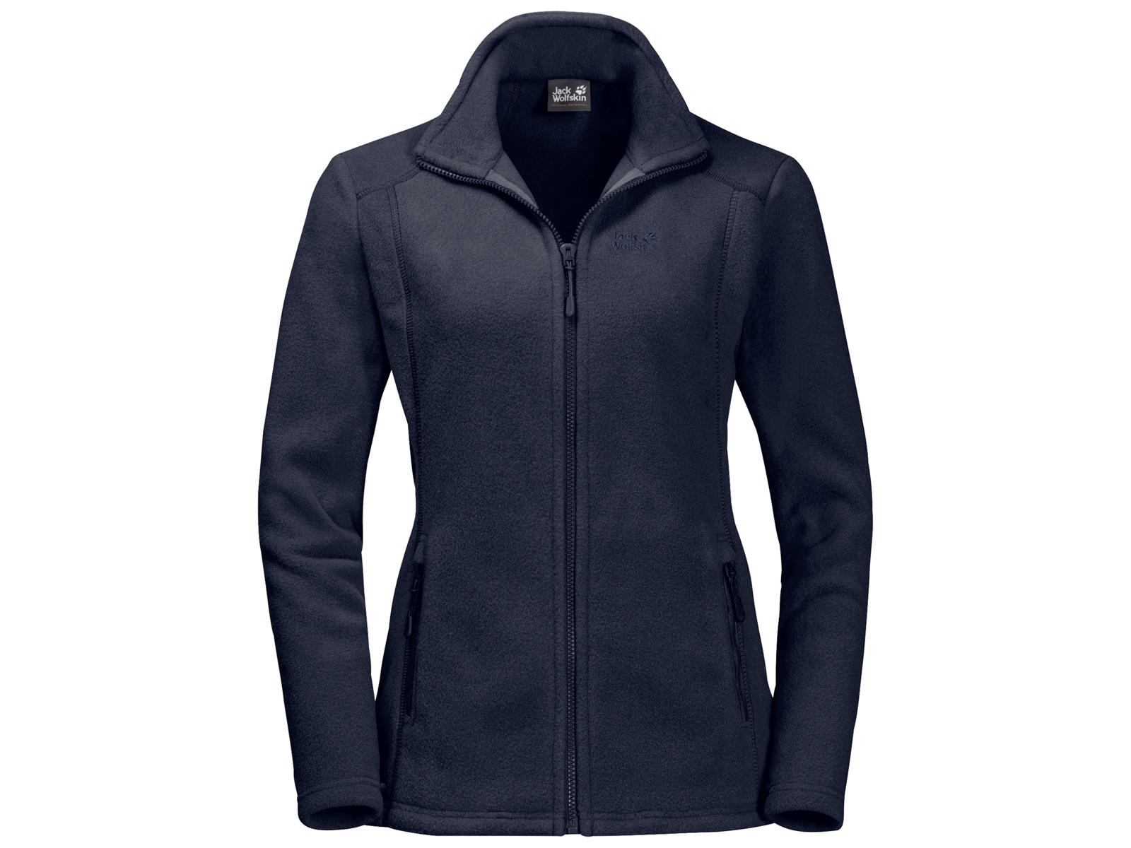 Jack Wolfskin Midnight Moon Fleece jakke Dame Mørkeblå (DKK 399,00)