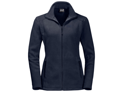 Jack Wolfskin Midnight Moon Fleece jakke - Dame - Mørkeblå