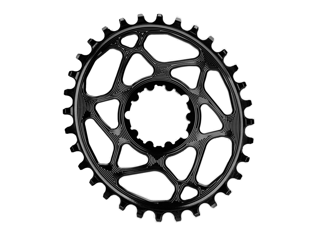 Image of absoluteBLACK Oval klinge - Sram - Direct mount - Offset 6 mm - 32 tænder - Sort