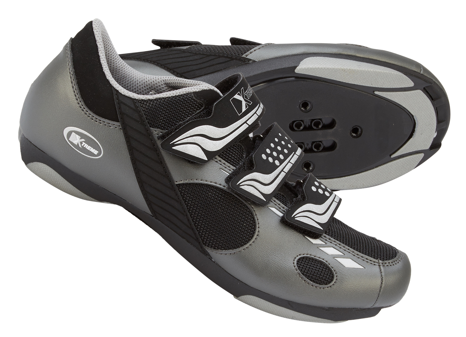 Xtreme - Cykel- og Spinningsko - X-Speed - Grå | Shoes and overlays