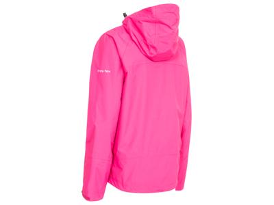 Trespass Miyake - Dame regnjakke med hætte - Pink