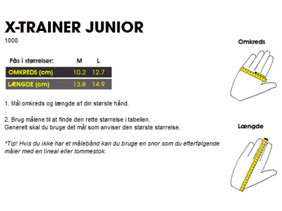 Cykelhandsker GripGrab X-trainer JR blå