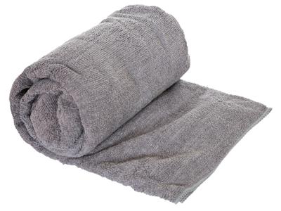 Trespass Transfix Change towel - Hurtigtørrende mikrofiber håndklæde - Grå - 80 x 140 cm