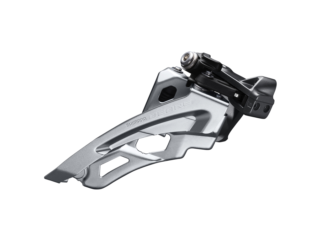 Image of   Shimano Deore - Forskifter FD-M6000-L - 3x10 40/42 tands Low clamp med bånd - 28,6-34,9mm
