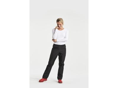 Didriksons Grand Womens Pants - Dame regnbukser - Sort