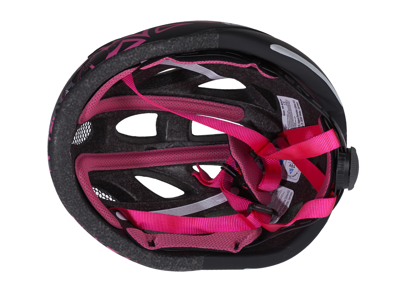Cykelhjelm Abus Lane-U mat sort/pink