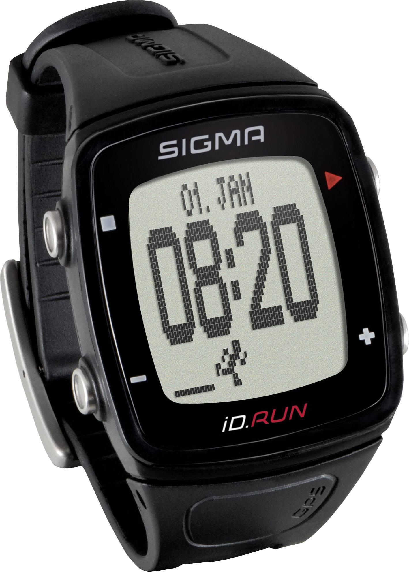 Sigma iD.RUN - Sportsur / Aktivitets tracker - Sort | Sports watches