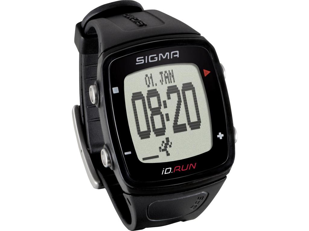 Sigma iD.RUN - Sportsur / Aktivitets tracker - Sort