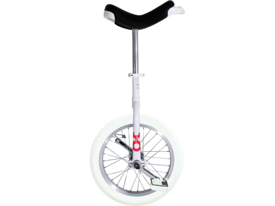 """Ethjulet cykel 16"""" hjul - Hvid"""