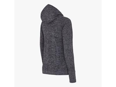 Diadora - L. Seamless LS t-shirt - Løbebluse - Dame - Sort melange