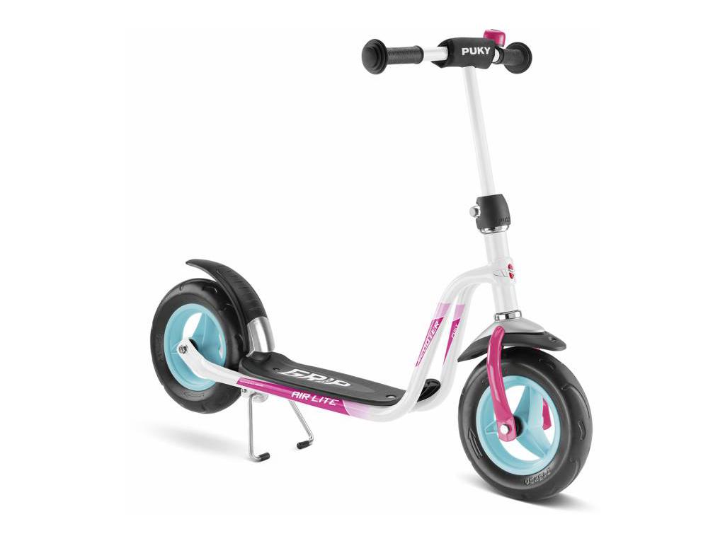 Image of   Puky R 03 - Løbehjul til børn fra 3 år - Hvid/pink