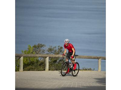 GripGrab Lightweight SL Short 3017 - Cykelstrømpe kort - Rød