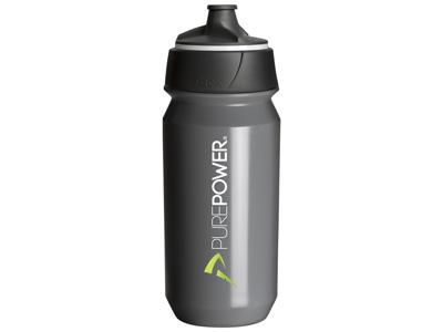 PurePower Exklusiv - Vattenflaska - Grå - 500 ml