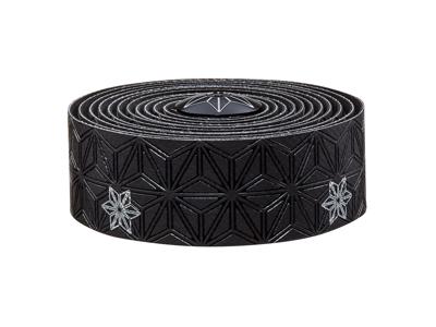 Supacaz Super Sticky Kush Galaxy - Styrbånd - Sort/Sølv