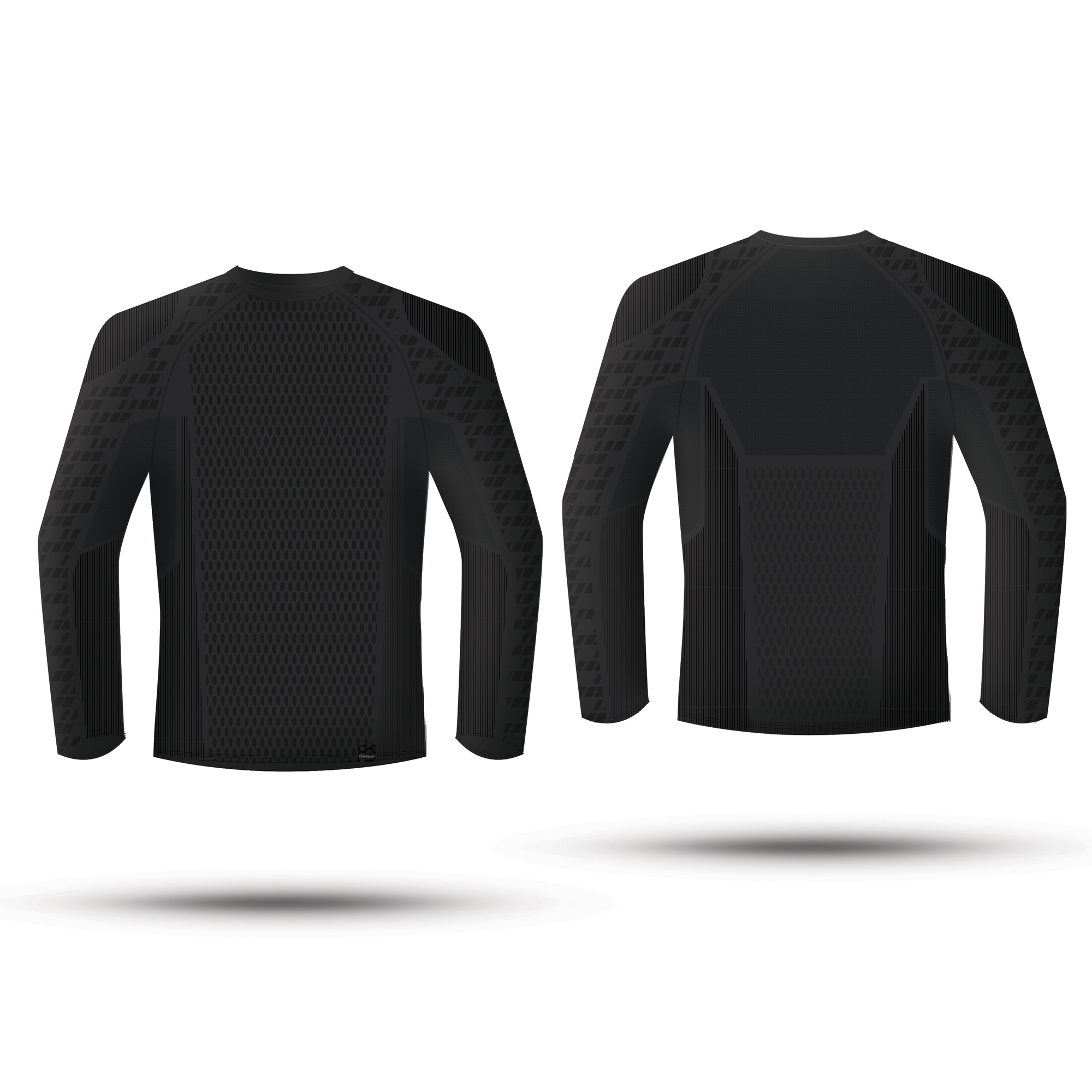 GripGrab Expert Seamless Thermal Base Layer - Svedundertrøje - Unisex - Sort | Base layers