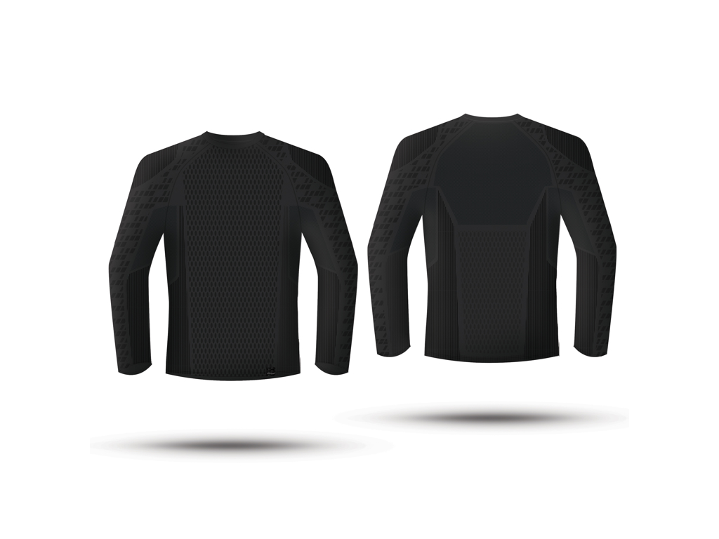 Image of   GripGrab Expert Seamless Thermal Base Layer LS 6010- Svedundertrøje - Sort - Str. XS/S