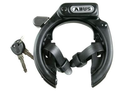 Ringlås Abus 485 Amparo CL sort med strips