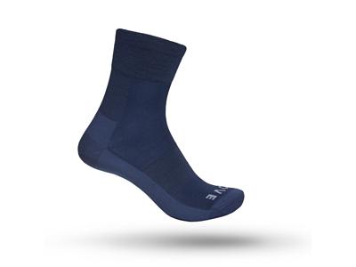 GripGrab Merino Lightweight Sock SL 3015 - Cykelstrømpe - Navy - Str. S