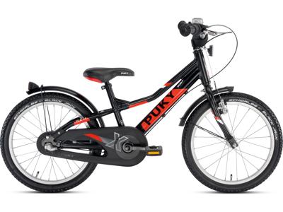 "Puky - Børnecykel ZLX 18-3 Alu 18"" med 3 gear - Sort/rød"