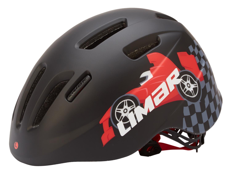 Limar 224 - Cykelhjelm til børn - Str. 46-52 cm - Sort race | Helmets