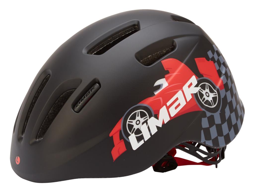 Limar 224 - Cykelhjelm til børn - Str. 46-52 cm - Sort race