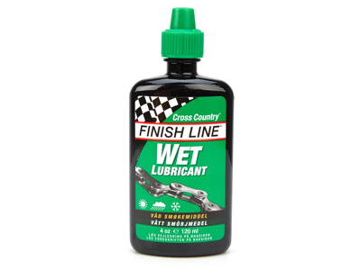 Olje Finish Line Cross Country Wet 120 ml dryppflaske grønn