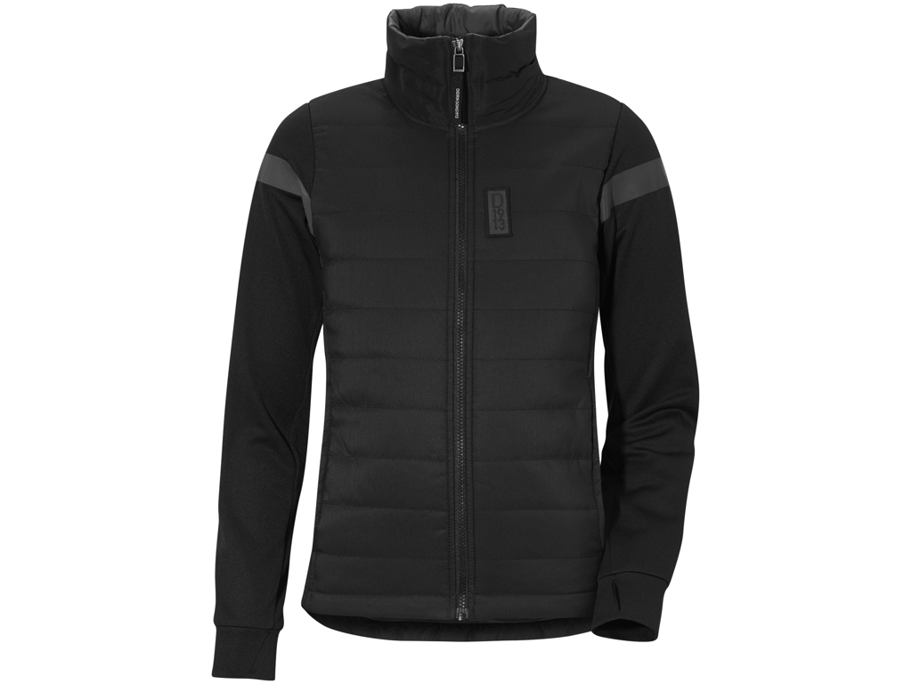 Image of   Didriksons Madrid Girls Jacket - Hybridjakke Børn - Sort - 140