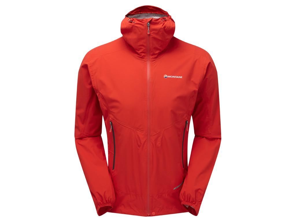 Montane Minimus Stretch Ultra Jacket - Skaljakke Mand - Rød - Large thumbnail