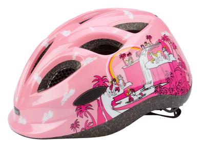 Cykelhjelm Abus Smiley pink pony