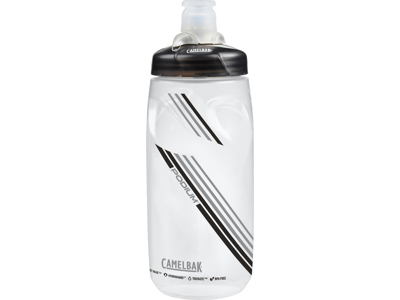 Camelbak Podium - Drikkeflaske 0,62 liter - 100% BPA fri - Clear Carbon