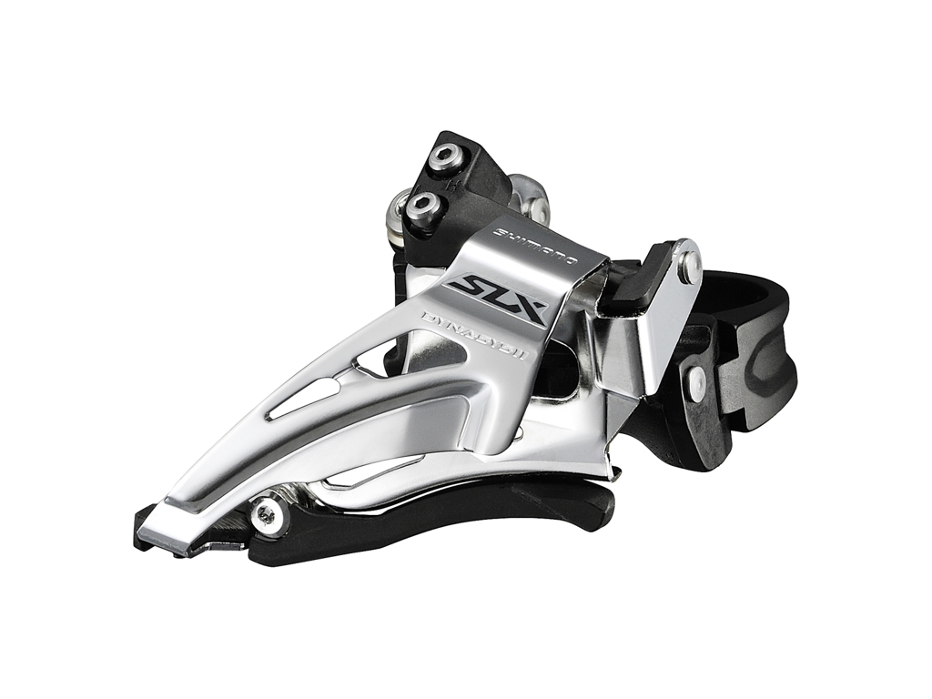 Image of   Shimano SLX - Forskifter FD-M7025 - 2 x 11 gear med Low clamp spændebånd - 28,6-34,9mm