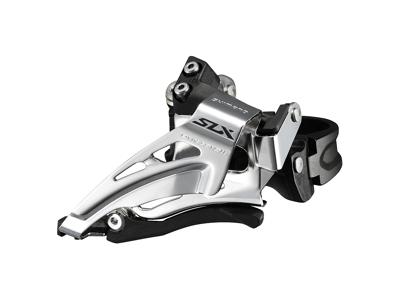 Shimano SLX - Forskifter FD-M7025 - 2 x 11 gear med Low clamp spændebånd - 28,6-34,9mm