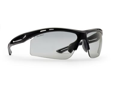 Demon Cabana DCHROM - Löpar- och cykelglasögon med fotokromatiska linser - Mattsvart