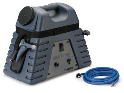 Airace - Driving Waterman - Højtryksrenser - 12Volt - Blå - Transportabel