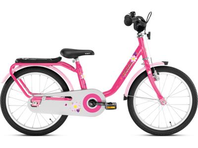 """Pigecykel Puky Z 8 18"""" i stål - Pink"""