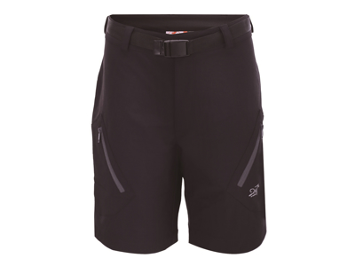 2117 Of Sweden Tåby Eco Outdoor Shorts - Fritidsshort - Dame - Mørkegrå - Str. 42