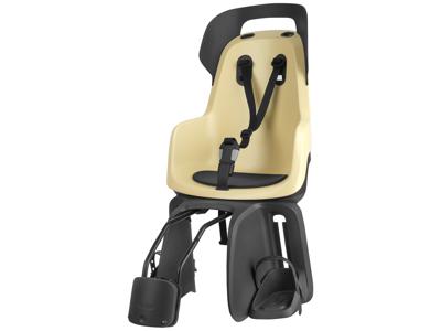 Bobike Go - Cykelstol till rammontering - Sandfärgad